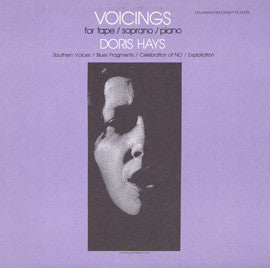 Doris Hays  Voicings for Tape/Soprano/Piano (1983) CD