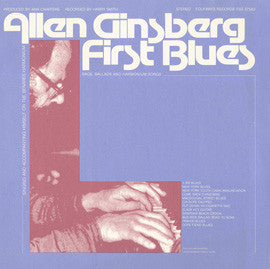 Allen Ginsberg  First Blues (1981) CD