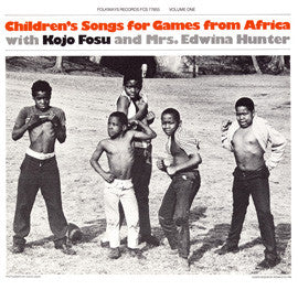 Children's Songs for Games from Africa: With Kojo Fosu and Edwina Hunter CD