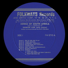Songs of South Africa, Sung in Afrikaans CD