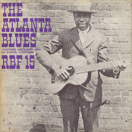 Atlanta Blues (1966)  Blind Willie McTell, Barbeque Bob, Tampa Red, others CD