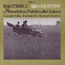 Ragtime Vol. 2  The Country - Mandolins, Fiddles, and Guitars (1971)  CD