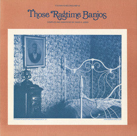 Those Ragtime Banjos (1979)  Fred Van Eps, Vess Ossman, Roy Smeck, others CD