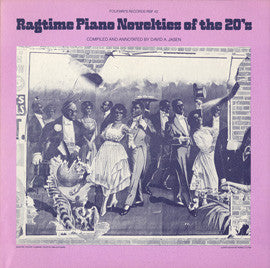 Ragtime Piano Novelties of the 20's (1980)  Billy Mayerl, Henry Lange, Pauline Alpert, others CD
