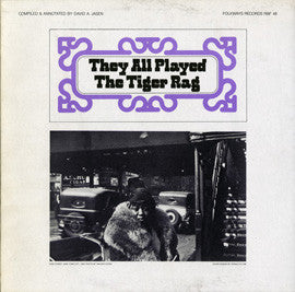 They All Played the Tiger Rag (1983)  Earl Hines, Fletcher Henderson, Bix Beiderbecke, others CD