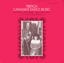French Canadian Dance Music (1983)  Jean-Marie Verret CD