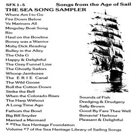 American Folk Anthologies  The Sea Song Sampler (1983) CD