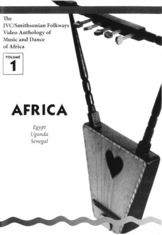JVC/SMITHSONIAN FOLKWAYS VIDEO ANTHOLOGY OF MUSIC & DANCE OF AFRICA VOL 1 BOOK ONLY