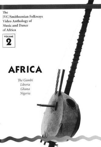 JVC/SMITHSONIAN FOLKWAYS VIDEO ANTHOLOGY OF MUSIC & DANCE OF AFRICA VOL 2 BOOK ONLY