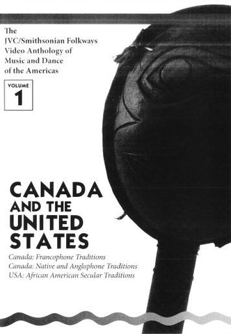JVC/SMITHSONIAN FOLKWAYS VIDEO ANTHOLOGY OF MUSIC & DANCE OF THE AMERICAS VOL 1 (1 DVD/1 BOOK)