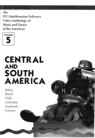 JVC/SMITHSONIAN FOLKWAYS VIDEO ANTHOLOGY OF MUSIC & DANCE OF THE AMERICAS VOL 5 BOOK ONLY