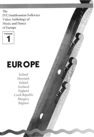 JVC/SMITHSONIAN FOLKWAYS VIDEO ANTHOLOGY OF MUSIC & DANCE OF EUROPE VOL 1 BOOK ONLY