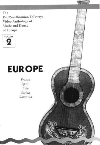 JVC/SMITHSONIAN FOLKWAYS VIDEO ANTHOLOGY OF MUSIC & DANCE OF EUROPE VOL 2 BOOK ONLY