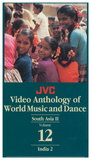 JVC South Asia Music and Dance Regional Set -- 5 DVDs and 1 CD-ROM with 9 printable, searchable and copy-permission books