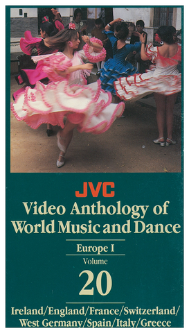 JVCVOL20 - Europe I -- Ireland, England, France, Switzerland, W. Germany, Spain, Italy - Vol 20