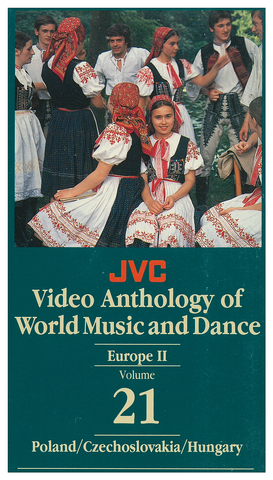 JVCVOL21 - Europe II -- Poland, Czechoslovakia, Hungary - Vol 21 DVD -- REDUCED PRICE