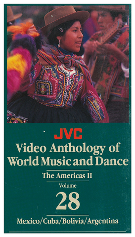 JVCVOL28 - Americas II -- Mexico, Cuba, Brazil, Bolivia, Argentina - Vol 28 DVD -- REDUCED PRICE