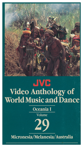 JVCVOL29 - Oceania I -- Micronesia, Saipan, Melanesia (Papua New Guinea & New Caledonia) - Vol 29 DVD -- REDUCED PRICE