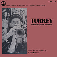 "Turkey - Traditional Songs & Music - <font color=""bf0606""><i>DOWNLOAD ONLY</i></font> LAS-7356"