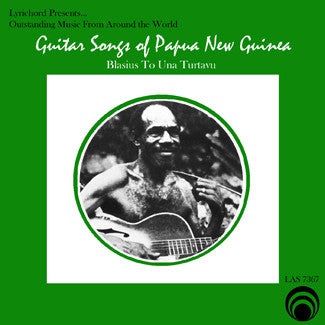 "Guitar Songs of Papua, New Guinea <font color=""bf0606""><i>DOWNLOAD ONLY</i></font> LAS-7367"