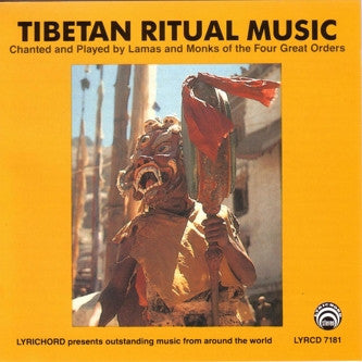 "Tibetan Ritual Music <font color=""bf0606""><i>DOWNLOAD ONLY</i></font> LYR-7181"