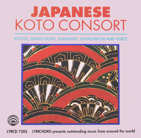 "Japanese Koto Consort <font color=""bf0606""><i>DOWNLOAD ONLY</i></font> LYR-7205"