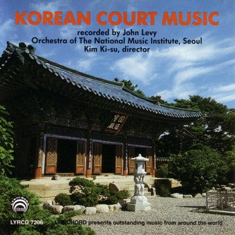 Korean Court Music CD LYR-7206