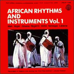 African Rhythms and Instruments Vol. 1 CD LYR-7328