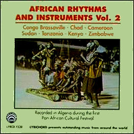 African Rhythms and Instruments Vol. 2 CD LYR-7338
