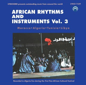 African Rhythms and Instruments Vol. 3 CD LYR-7339