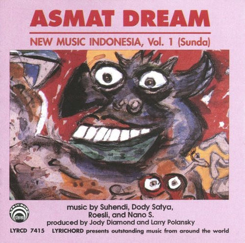 Indonesia Vol. 1: Asmat Dream CD LYR-7415