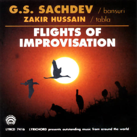 "G.S. Sachdev and Zakir Hussain: Flights of Improvisation <font color=""bf0606""><i>DOWNLOAD ONLY</i></font> LYR-7416"