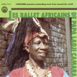"Les Ballets Africains <font color=""bf0606""><i>DOWNLOAD ONLY</i></font> LYR-7419"