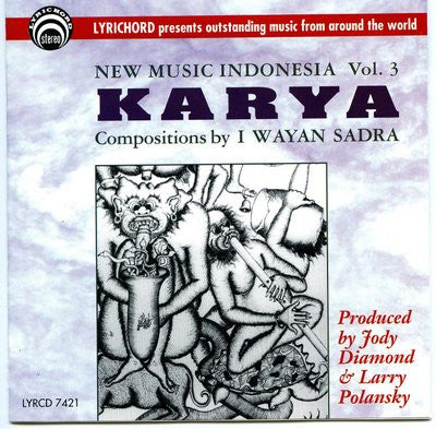 Indonesia Vol. 3: Karya CD LYR-7421