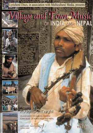 Village and Town Music of India and Nepal DVD/CD