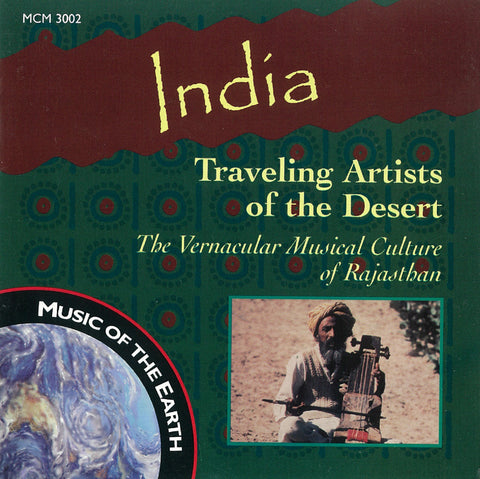 India: Traveling Artists of the Desert CD MCM-3002