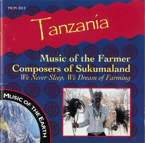 "Tanzania: Music of the Farmer Composers of Sukumaland <font color=""bf0606""><i>DOWNLOAD ONLY</i></font> MCM-3013"