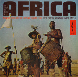 Africa: The Voices and Drums of Africa  CD