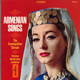 The Cosmopolitan Chorale - Armenian Songs  CD