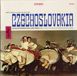 Folk Songs and Dances from Czechoslovakia CD