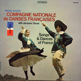 Compagnie Nationale de Danse Francaise with Jacques Douai CD