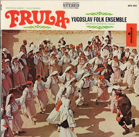Frula  Frula Yugoslav Folk Ensemble CD