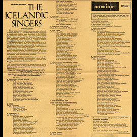 The Icelandic Singers CD