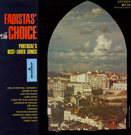 Fadista's Choice  Portugal's Best Loved Songs CD