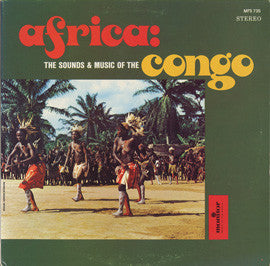 Sounds and Music of the Congo  CD