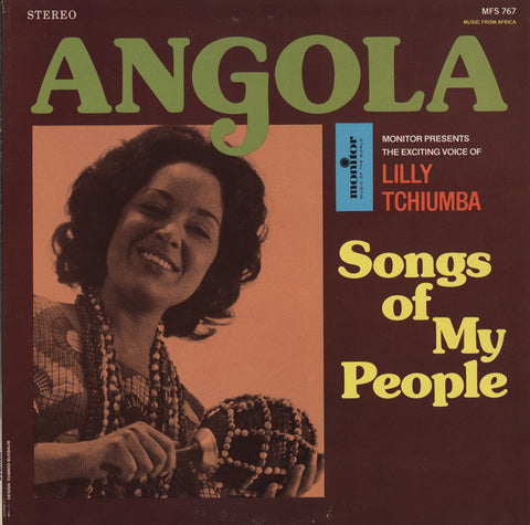 Lilly Tchiumba - Angola  Songs of My People  CD