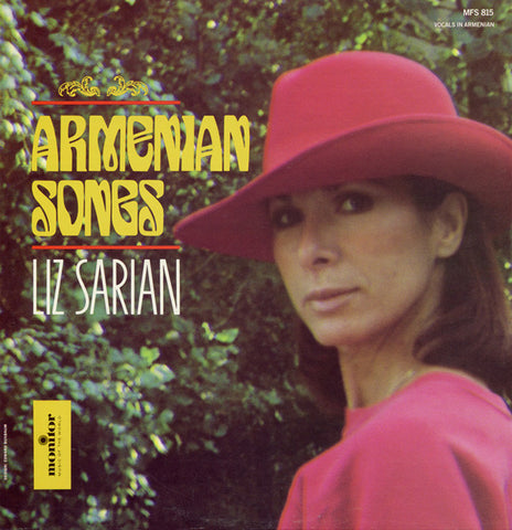 Liz Sarian - Armenian Songs  CD