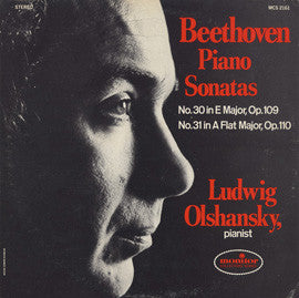 Beethoven Piano Sonatas: No. 30 in E Major, Op. 109; No. 31 in A-Flat Major, Op. 110 CD