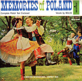 "Bolek Sings Polish Favorites, ""Memories of Poland"" CD"