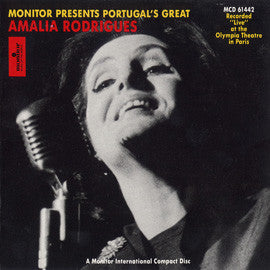 Amalia Rodrigues  Live at the Olympia Theater in Paris CD